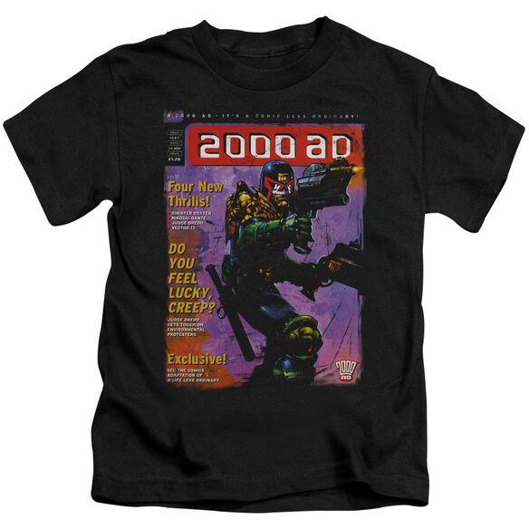 Judge Dredd 1067 Short Sleeve Juvenile Black T-Shirt