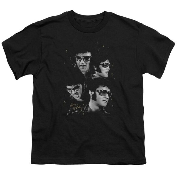 Elvis Faces Short Sleeve Youth T-Shirt