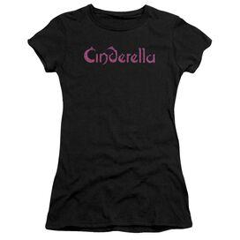 Cinderella Logo Rough Premium Bella Junior Sheer Jersey