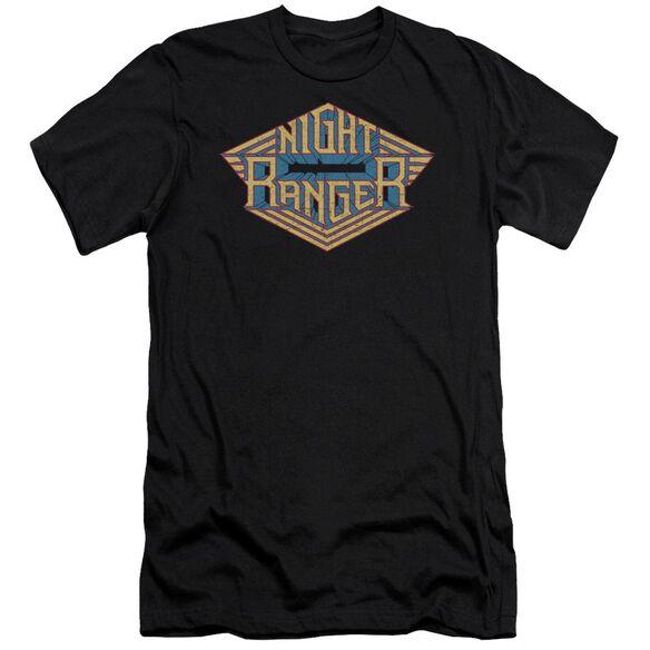 Night Ranger Logo Premuim Canvas Adult Slim Fit