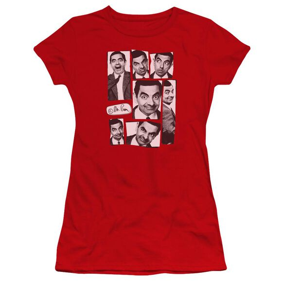 Mr Bean Boxed Beans Premium Bella Junior Sheer Jersey