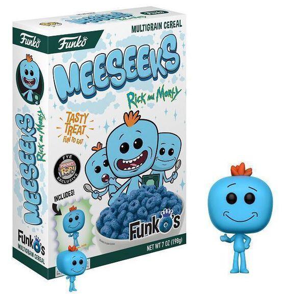 Rick & Morty Meeseeks FunkO's Cereal