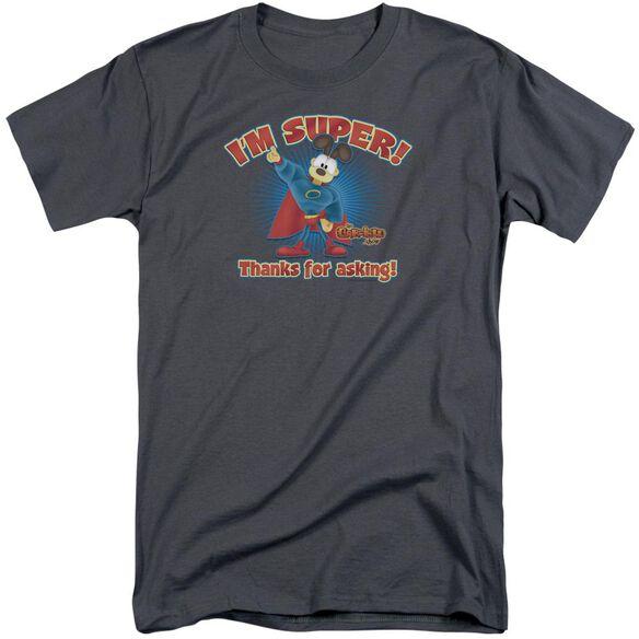 Garfield Super Short Sleeve Adult Tall T-Shirt