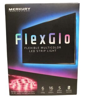 FlexGlo Flexible Multicolor LED Light Strip