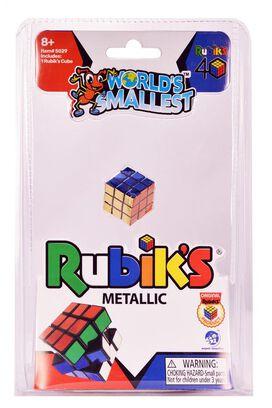 World's Smallest Rubik's Cube - Metallic 40th Anniversary