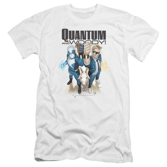 Quantum And Woody Quantum And Woody Premuim Canvas Adult Slim Fit