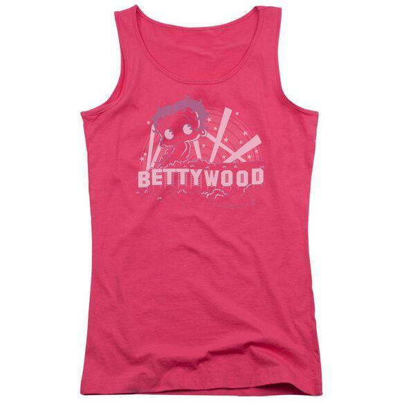 Betty Boop Bettywood Juniors Tank Top Hot