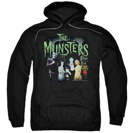 The Munsters 1313 50 Years Adult Pull Over Hoodie