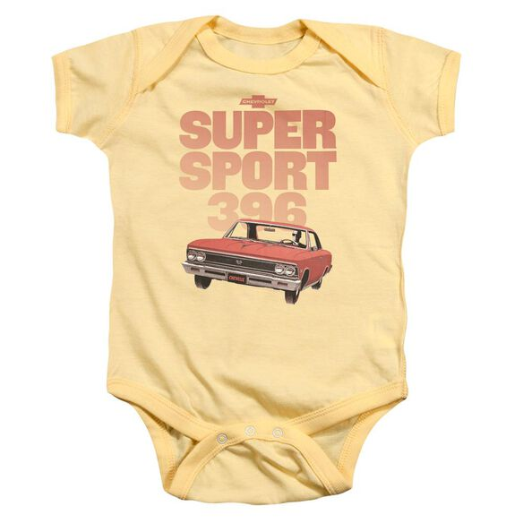 Chevrolet Super Sport 396 Infant Snapsuit Banana
