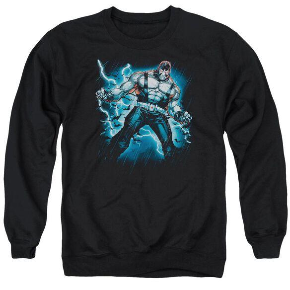Batman Stormy Bane - Adult Crewneck Sweatshirt - Black