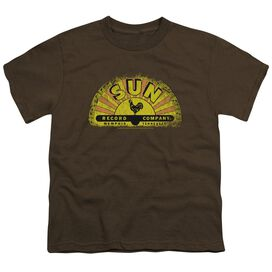 Sun Vintage Logo Short Sleeve Youth T-Shirt