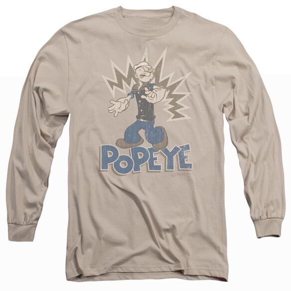 POPEYE SAILOR MAN - L/S ADULT 18/1 - SAND T-Shirt