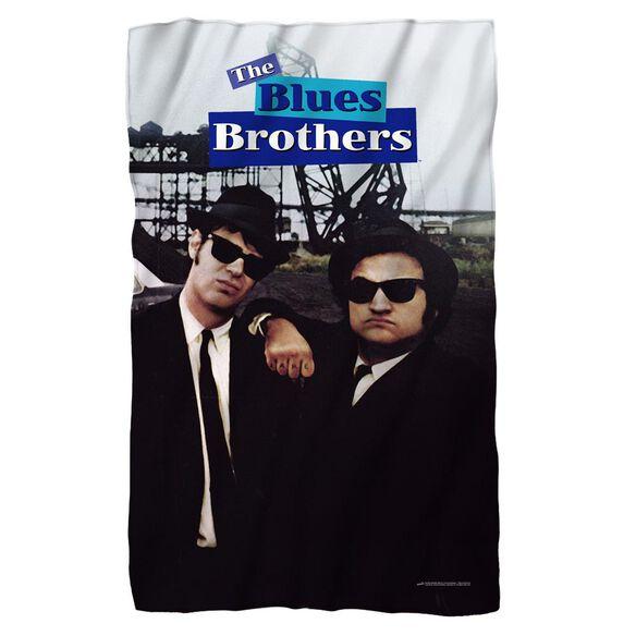 Blues Brothers Poster Fleece Blanket