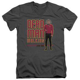 Star Trek Dead Man Walking Short Sleeve Adult V Neck T-Shirt