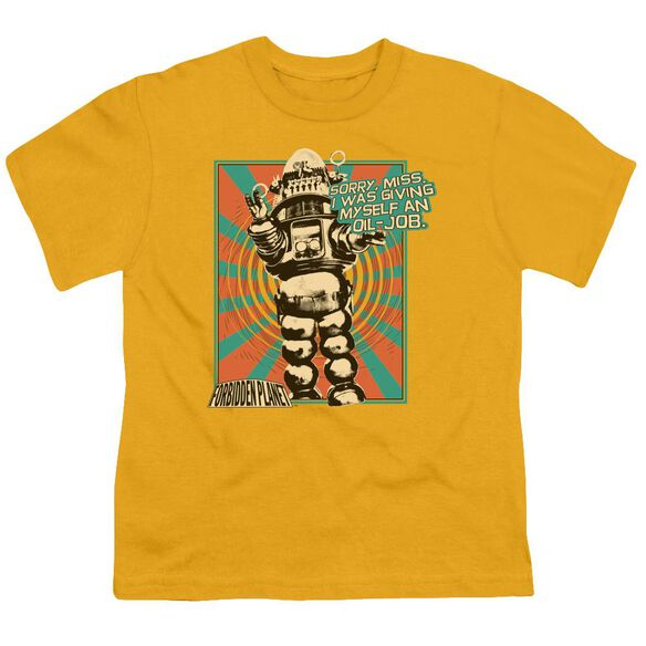 Forbidden Planet Oil Job Short Sleeve Youth T-Shirt