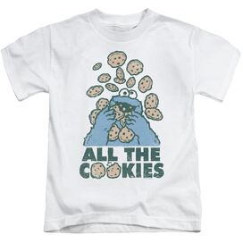 Sesame Street All The Cookies Short Sleeve Juvenile T-Shirt