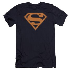 Superman & Orange Shield Premuim Canvas Adult Slim Fit
