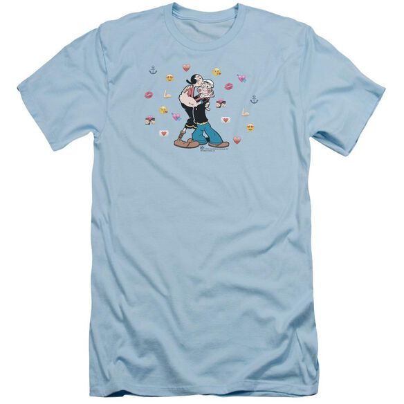 Popeye Love Icons Short Sleeve Adult Light T-Shirt