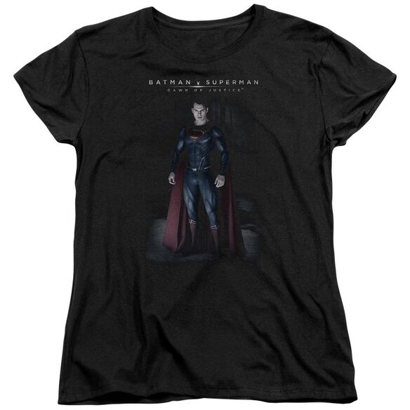 Batman V Superman Stand Tall Short Sleeve Womens Tee T-Shirt