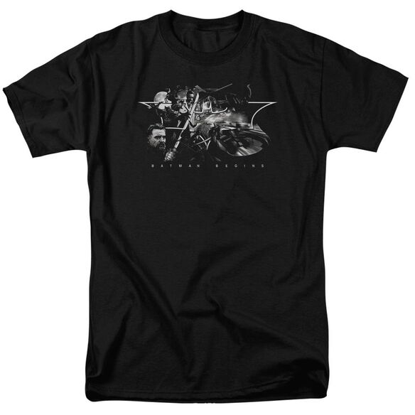 Batman Begins Night Natives Short Sleeve Adult T-Shirt