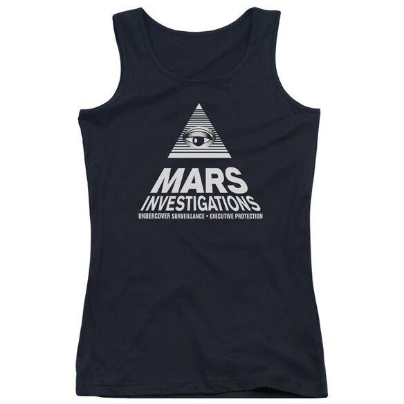Veronica Mars Marts Investigations Juniors Tank Top