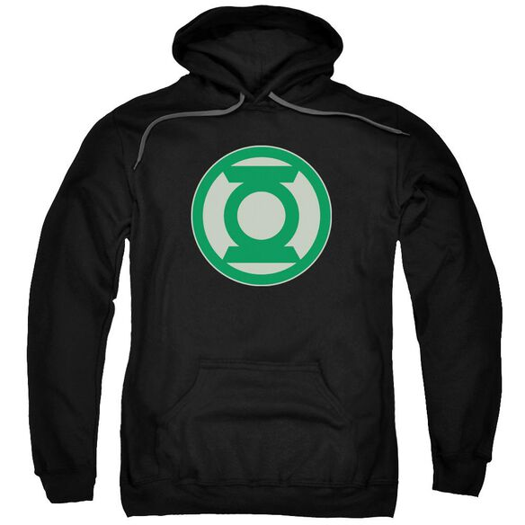 Green Lantern Green Symbol Adult Pull Over Hoodie