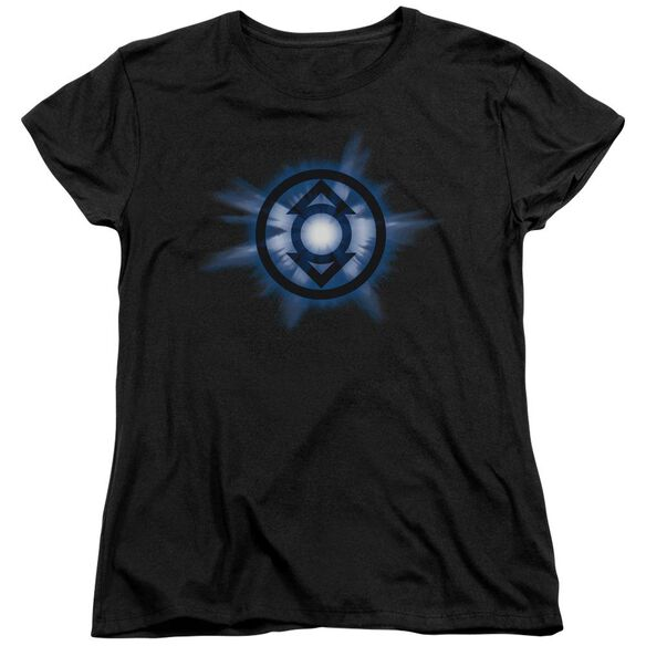 Green Lantern Indigo Glow Short Sleeve Womens Tee T-Shirt