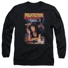 Pulp Fiction Poster Long Sleeve Adult T-Shirt