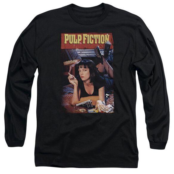 Pulp Fiction Poster Long Sleeve Adult T-Shirt