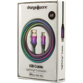 Chargeworx Lightning to USB Cable