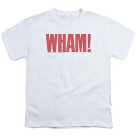 Wham Logo Short Sleeve Youth T-Shirt