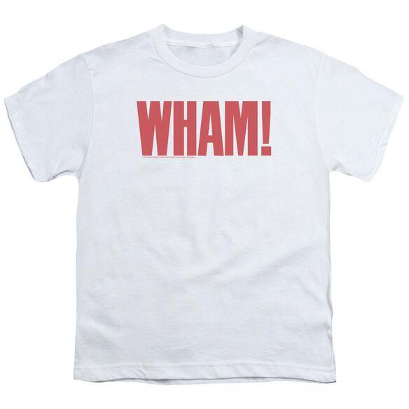 Wham Logo Short Sleeve Youth T-Shirt