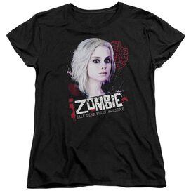 Izombie Take A Bite Short Sleeve Womens Tee T-Shirt