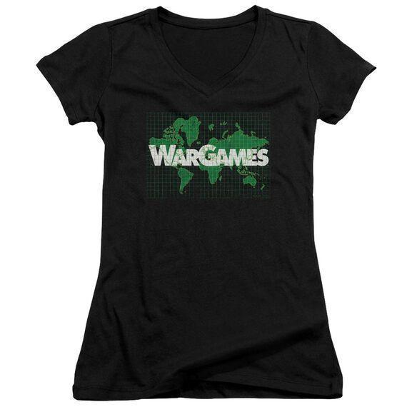 Wargames Game Board Junior V Neck T-Shirt