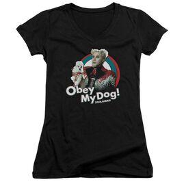 Zoolander Obey My Dog Junior V Neck T-Shirt