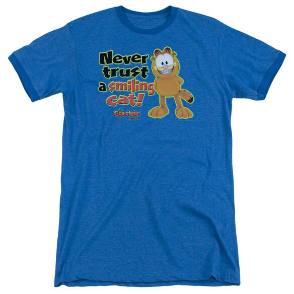Garfield Smiling - Adult Heather Ringer -