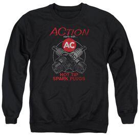 Ac Delco Cross Plugs Adult Crewneck Sweatshirt