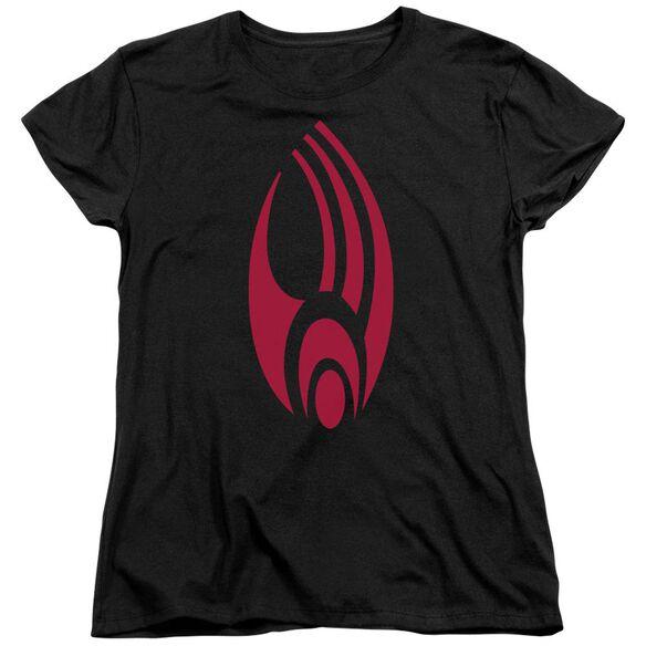 Star Trek Borg Logo Short Sleeve Womens Tee T-Shirt