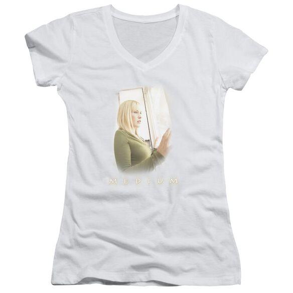 Medium Light Junior V Neck T-Shirt