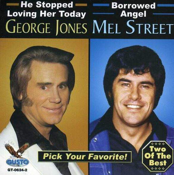 George Jones - George Jones and Mel Street