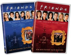 Friends: The Complete First and Second Seasons