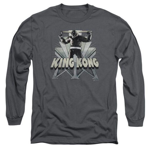 King Kong 8 Th Wonder Long Sleeve Adult T-Shirt