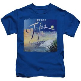 Zz Top Tejas Short Sleeve Juvenile Royal T-Shirt