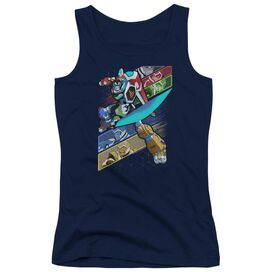 Voltron Crisscross Juniors Tank Top