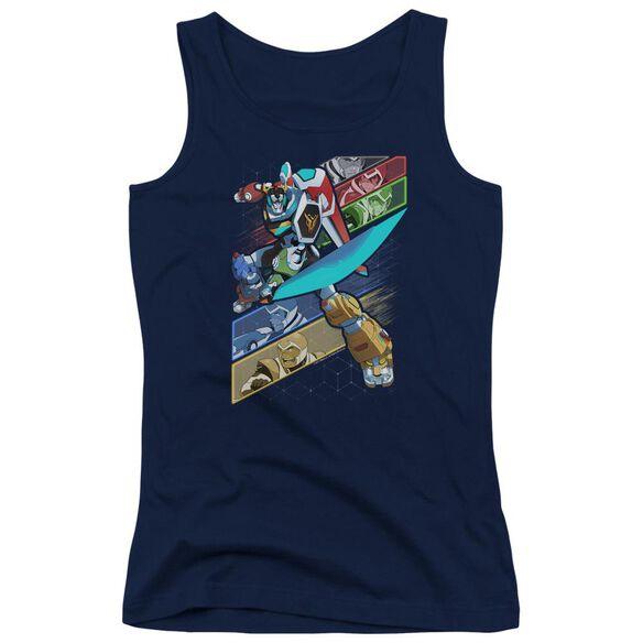 Voltron Crisscross Juniors Tank Top