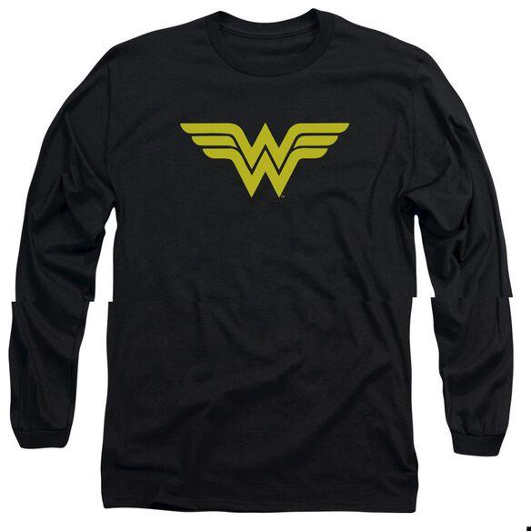 DC WONDER WOMAN LOGO-L/S T-Shirt