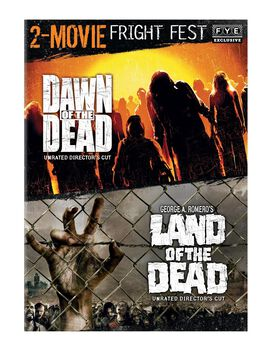 Fright Fest Zombie 2-Movie Collection [Dawn of the Dead, Land of the Dead]