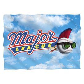 Major League League Logo Pillow Case White