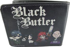 Black Butler Chibi Group Wallet