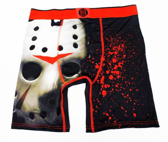 Friday the 13th Jason Mask Boxers